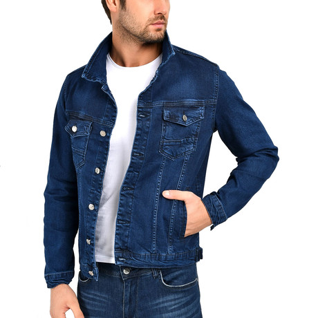 Cordell Jacket // Navy Blue (S)