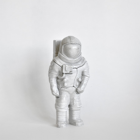 Small White Astronaut