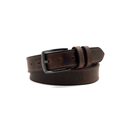 Manuel Casual Belt // Brown (32)