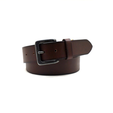 Sage Casual Belt // Brown (32)
