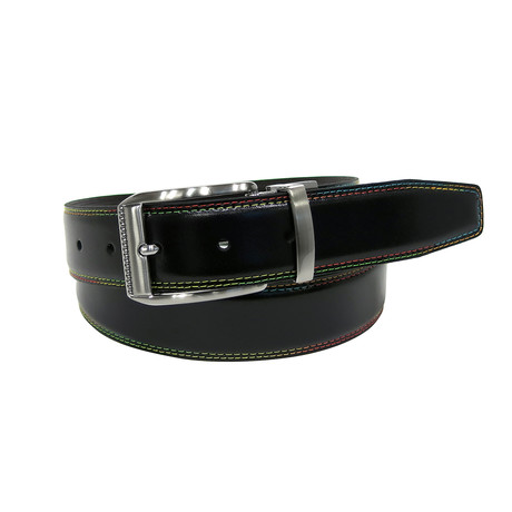 O'Keefe Belt // Black + Brown (32)