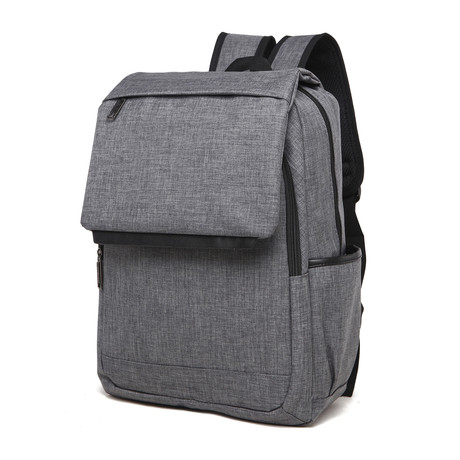 Something Flapped Backpack // Gray