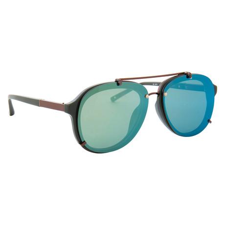 Men's PL162C5 Sunglasses // Green
