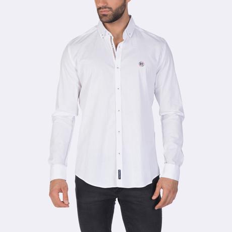 Blaine High Quality Basic Dress Shirt // White (XS)