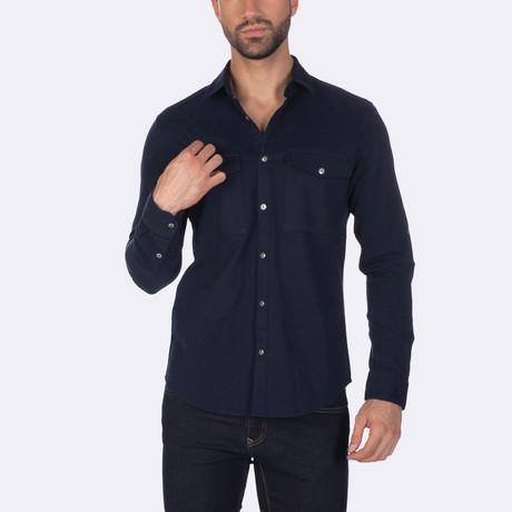 Marvin Dress Shirt // Navy (XS)
