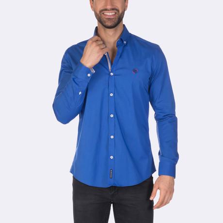 Ortiz High Quality Basic Dress Shirt // Sax (XS)