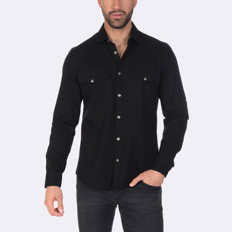 Jorn Dress Shirt // Black (XS)
