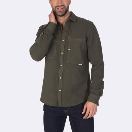 Jasper Dress Shirt // Green (XS)