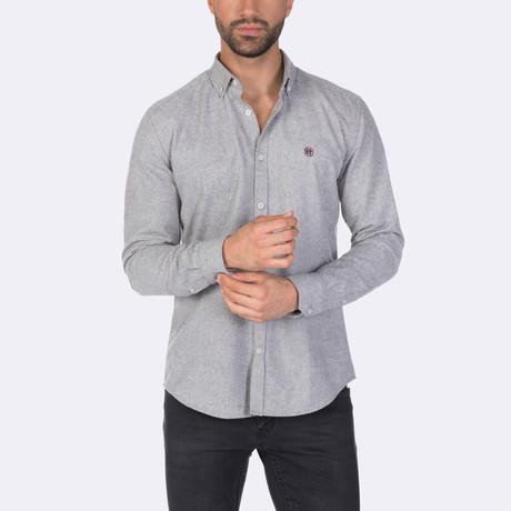 Larry Dress Shirt // Gray (XS)