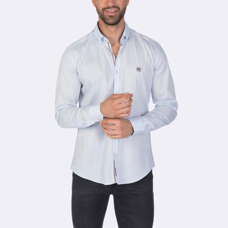 Spencer High Quality Basic Dress Shirt // Blue (XS)