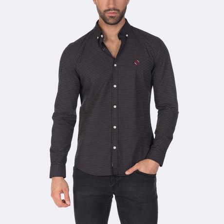 Alonso Dress Shirt // Black (XS)