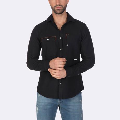 Rafael Dress Shirt // Black (XS)