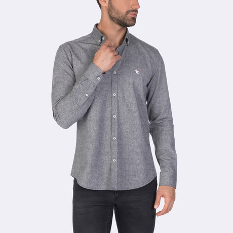 Jack Dress Shirt // Black (XS)