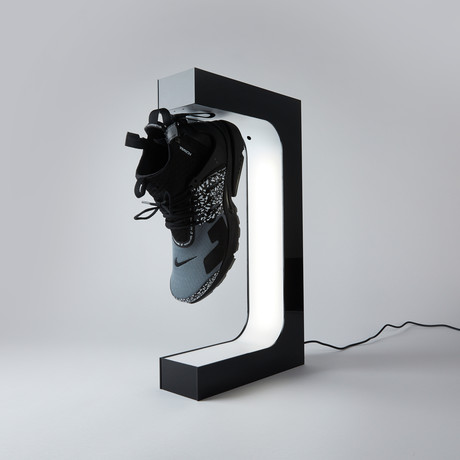 Original HYPELEV Levitation Sneaker Display // Black