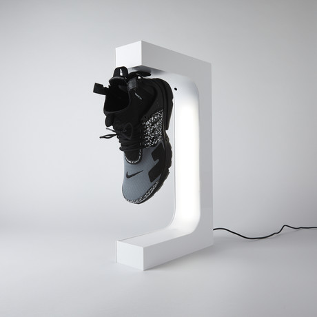 Original HYPELEV Levitation Sneaker Display // White