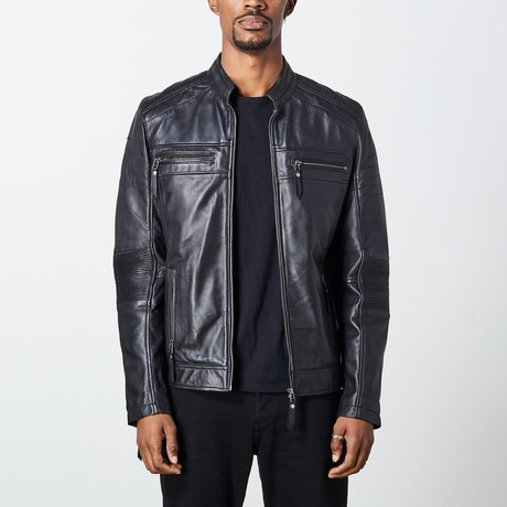 Chance Leather Jacket // Black (S)