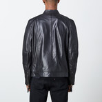 Chance Leather Jacket // Black (L)
