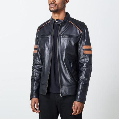 Herald Leather Jacket // Black (S)