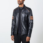 Herald Leather Jacket // Black (3XL)