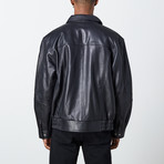 Leonardo Leather Jacket // Black (S)