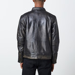 George Leather Jacket // Black (M)