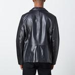 Carlos Leather Jacket // Black (M)