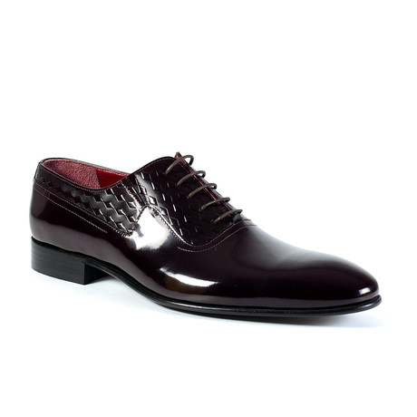 Zach Dress Shoe // Burgundy (Euro: 40)