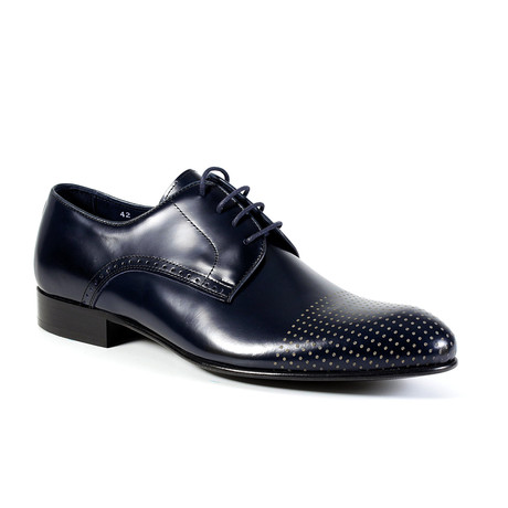 Neil Dress Shoe // Navy (Euro: 40)