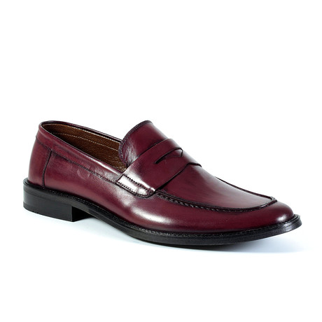Ari Dress Shoe // Burgundy (Euro: 40)