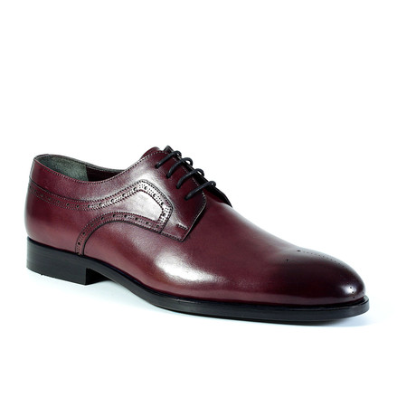 Matthew Dress Shoe // Burgundy (Euro: 40)