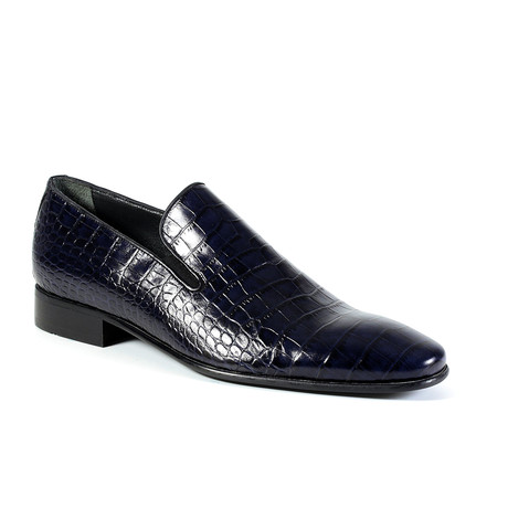 Zane Dress Shoe // Navy (Euro: 40)