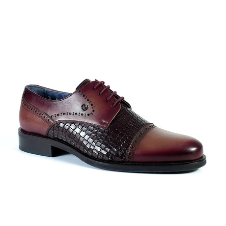 Blake Dress Shoe // Burgundy (Euro: 40)