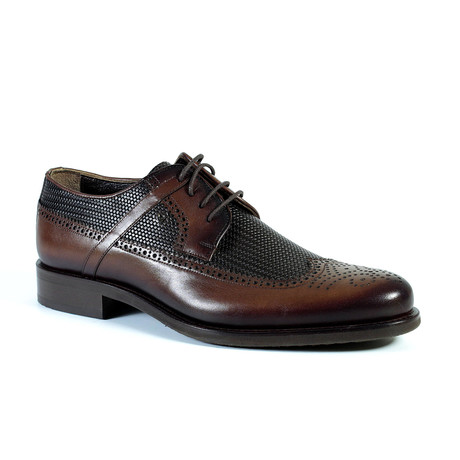 Preston Dress Shoe // Brown (Euro: 40)