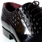 Zach Dress Shoe // Burgundy (Euro: 42)