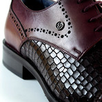 Blake Dress Shoe // Burgundy (Euro: 40)