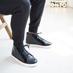 Tilden Leather // Black (US: 10)