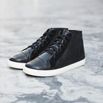 Tilden Leather // Black (US: 7)