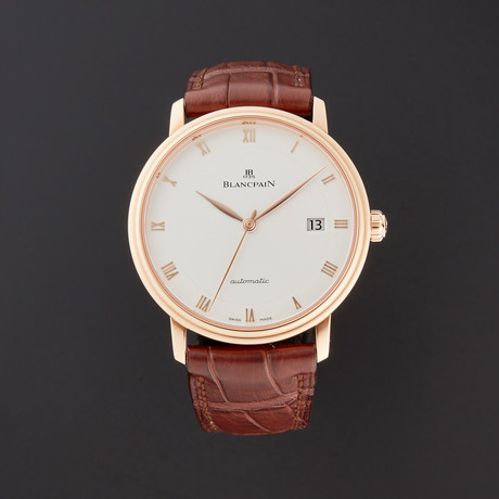 Blancpain Villeret Ultra Slim Automatic // 6223-3642-55A // Store Display