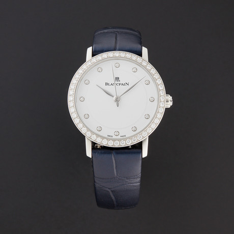 Blancpain Ladies Villeret Ultra Slim Automatic // 6102-4628-95A // New