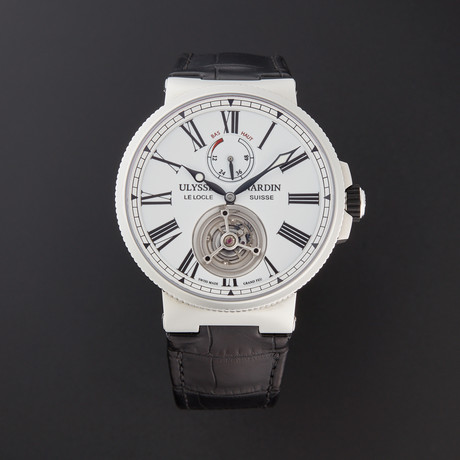Ulysse Nardin Marine Tourbillon Automatic // 1283-181/E0 // New