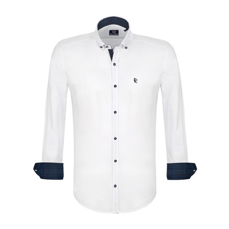 March Dress Shirt // White (S)