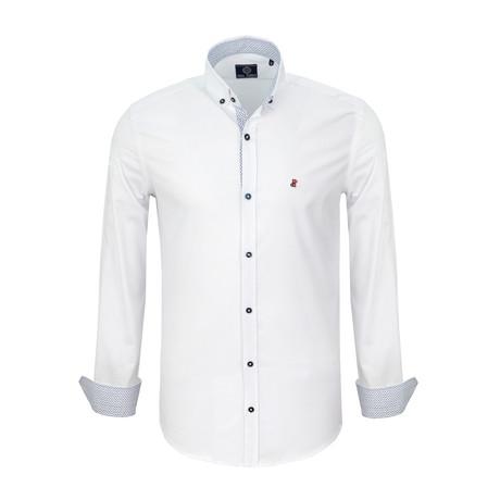 Steven Dress Shirt // White (S)