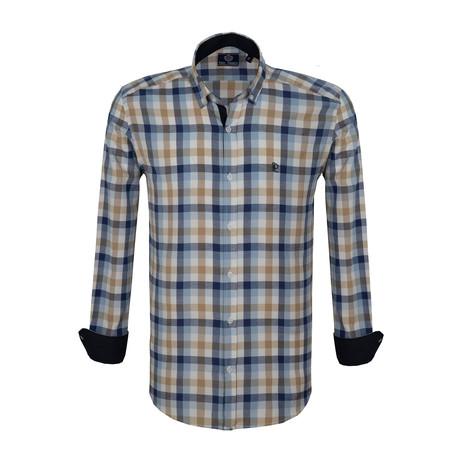 Edward Dress Shirt // Multicolor (S)