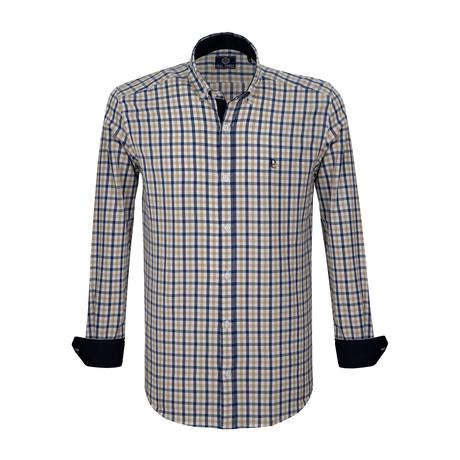 Marcus Dress Shirt // Multicolor (S)