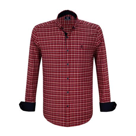 Benjamin Dress Shirt // Bordeaux (S)