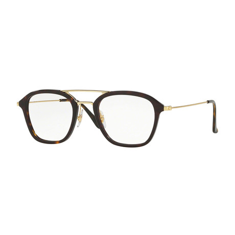 Men's Navigator Optical Frame // Havana Gold