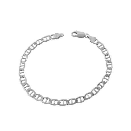 Sterling Silver Mariner Link Bracelet