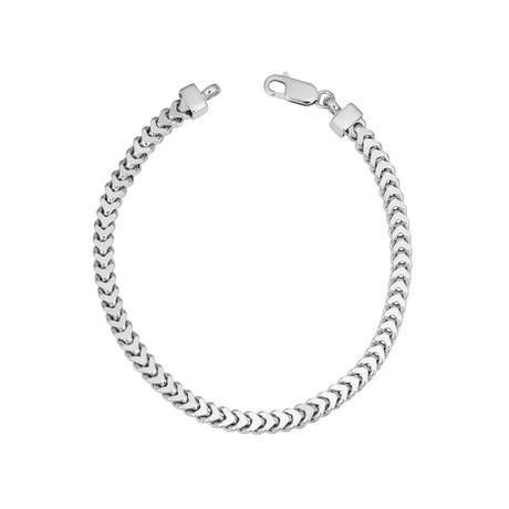 Sterling Silver Franco Bracelet