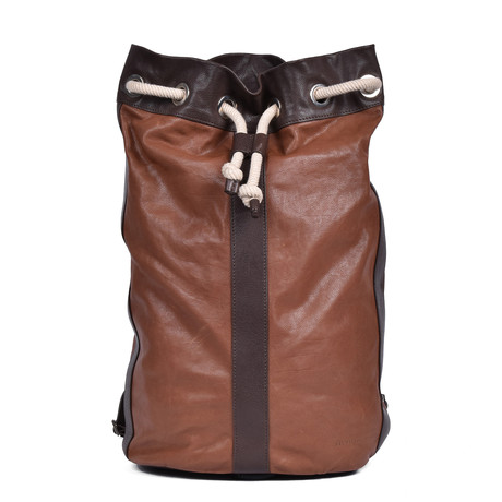 Backpack // Chestnut + Brown