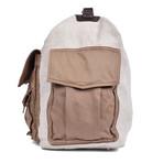 Travel Cargo Bag // Beige + Khaki